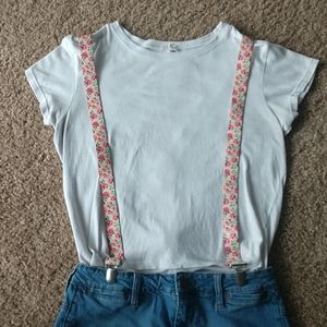 4/$20🌺 Floral Suspenders